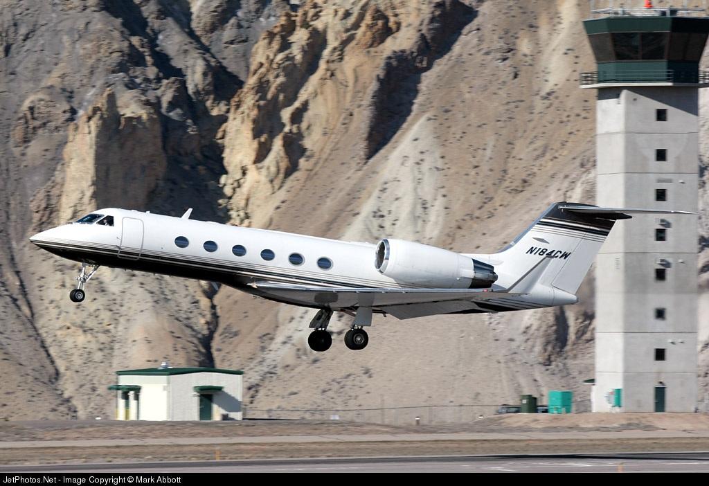 N184CW - Gulfstream G-IV - Private