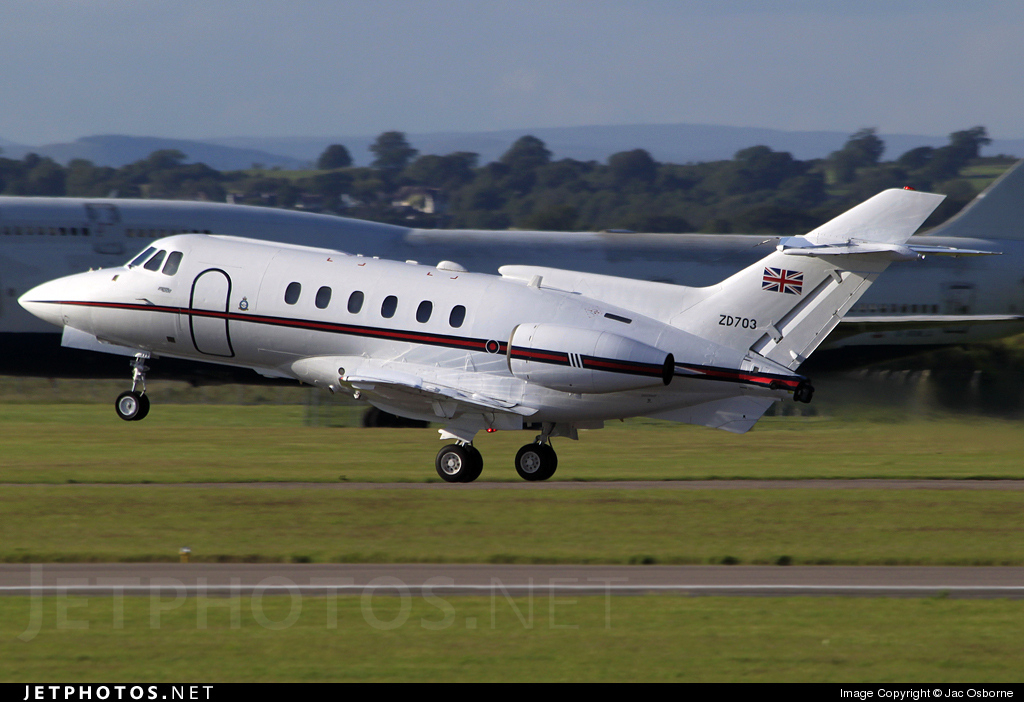 ZD703 - British Aerospace BAe 125 CC.3 - United Kingdom - Royal Air Force (RAF)
