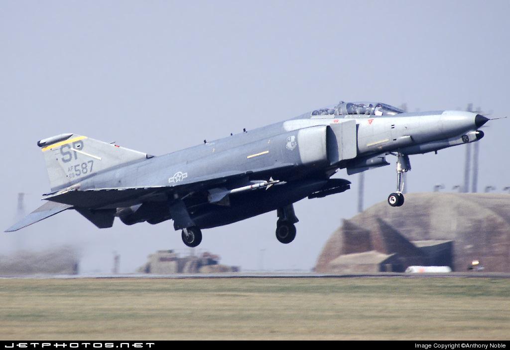69-7587 - McDonnell Douglas F-4G Phantom II - United States - US Air Force (USAF)