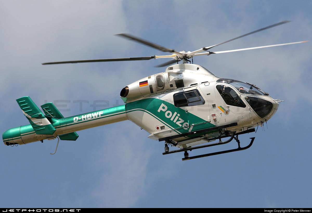 D-HBWF - McDonnell Douglas MD-902 Explorer II - Germany - Police