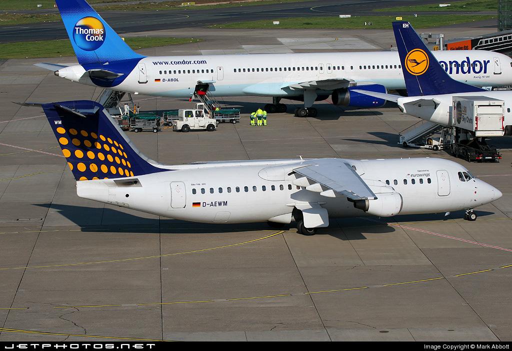 D-AEWM - British Aerospace BAe 146-300 - Lufthansa Regional (Eurowings)