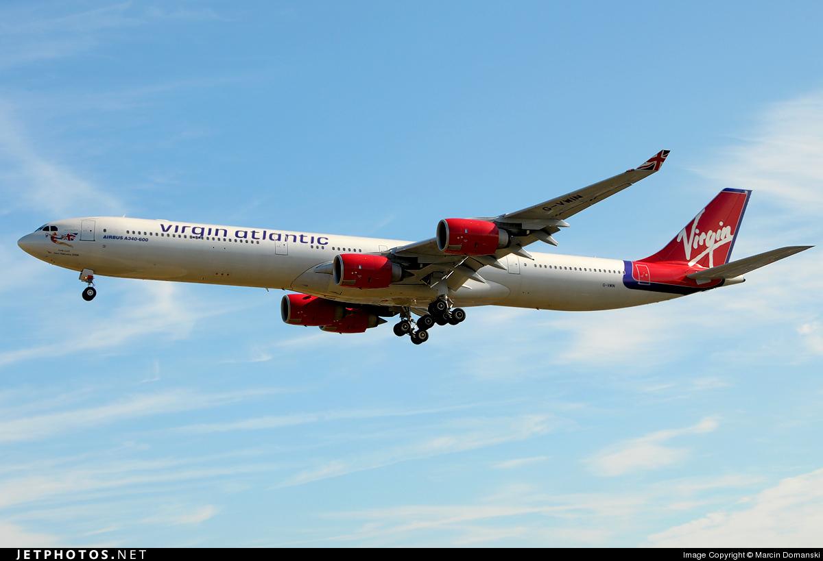G-VWIN - Airbus A340-642 - Virgin Atlantic Airways