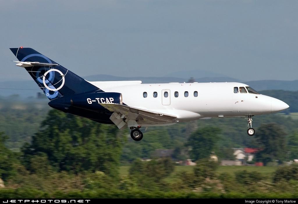 G-TCAP - British Aerospace BAe 125-800B - BAe Systems