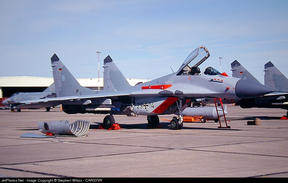 29-14 - Mikoyan-Gurevich MiG-29 Fulcrum - Germany - Air Force