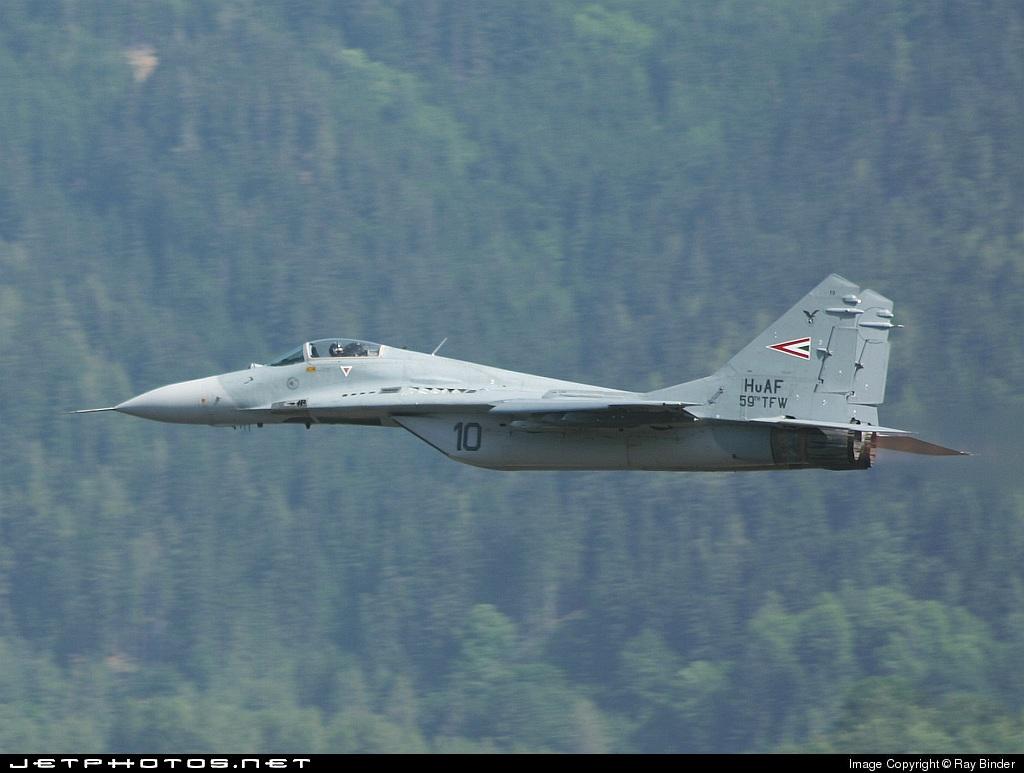 10 - Mikoyan-Gurevich MiG-29B Fulcrum - Hungary - Air Force