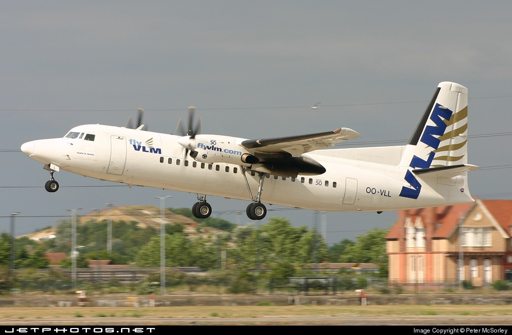 OO-VLL - Fokker 50 - VLM Airlines