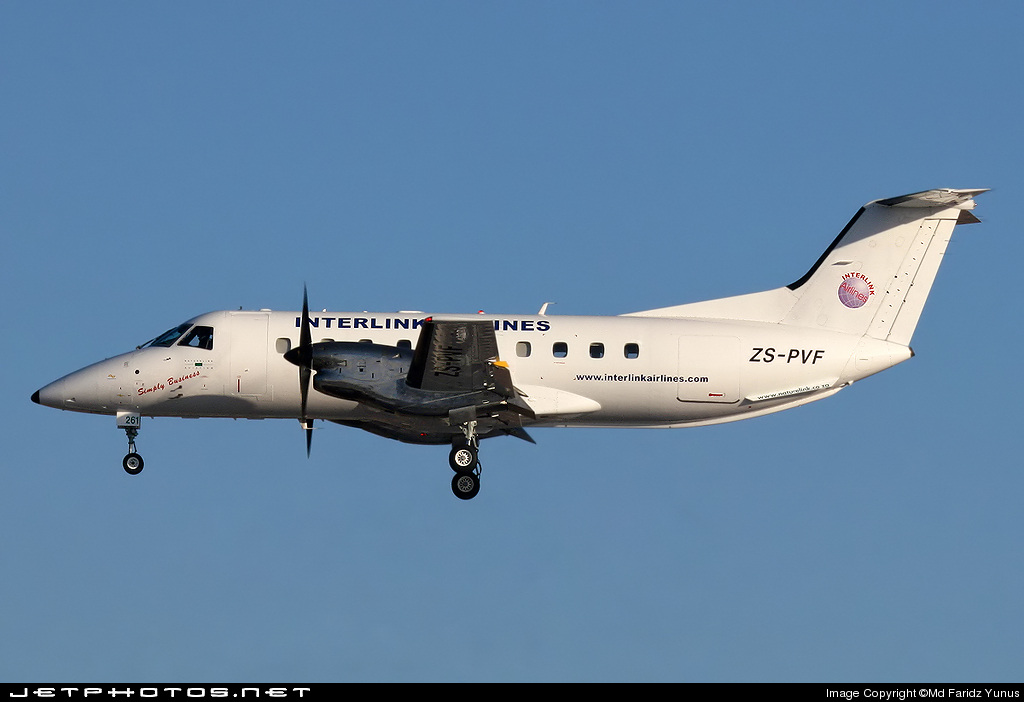 ZS-PVF - Embraer EMB-120ER Bras�lia - Interlink Airlines
