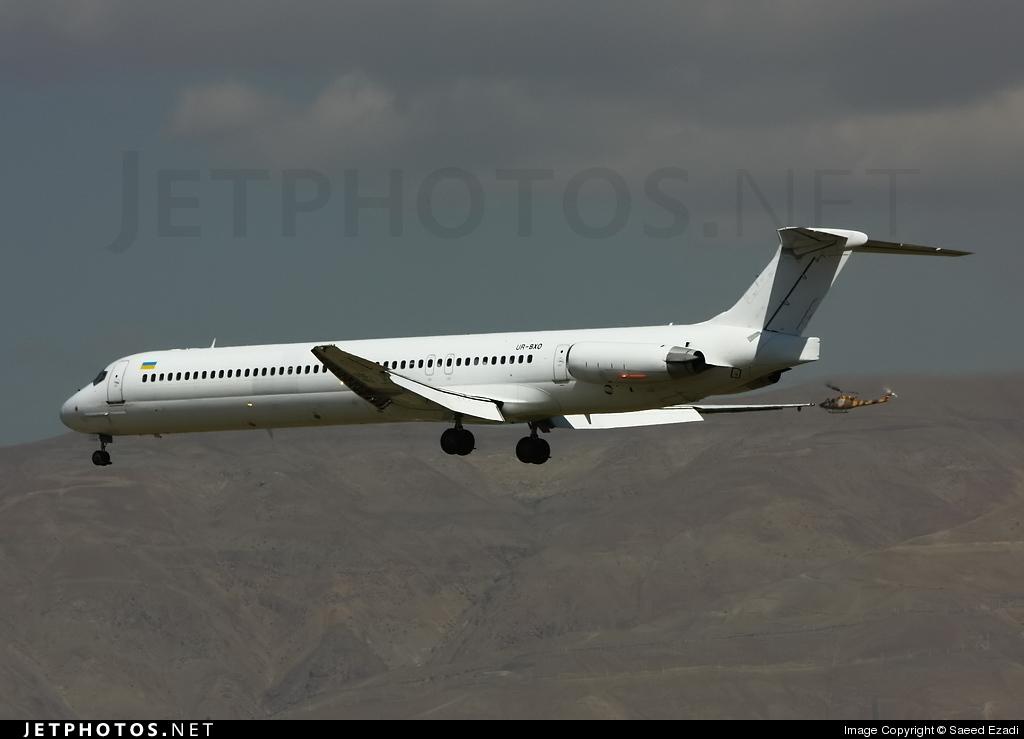 UR-BXO - McDonnell Douglas MD-83 - Kish Air (Bukovyna Aviation Enterprise)