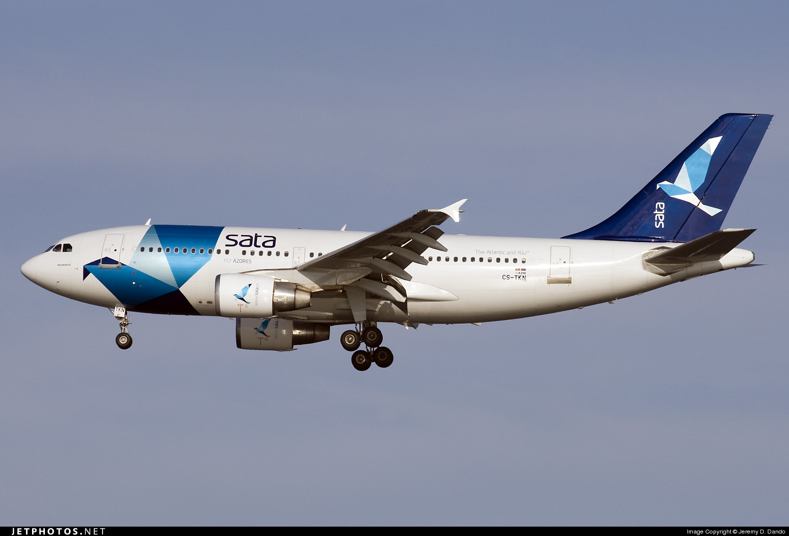 CS-TKN - Airbus A310-325(ET) - SATA International