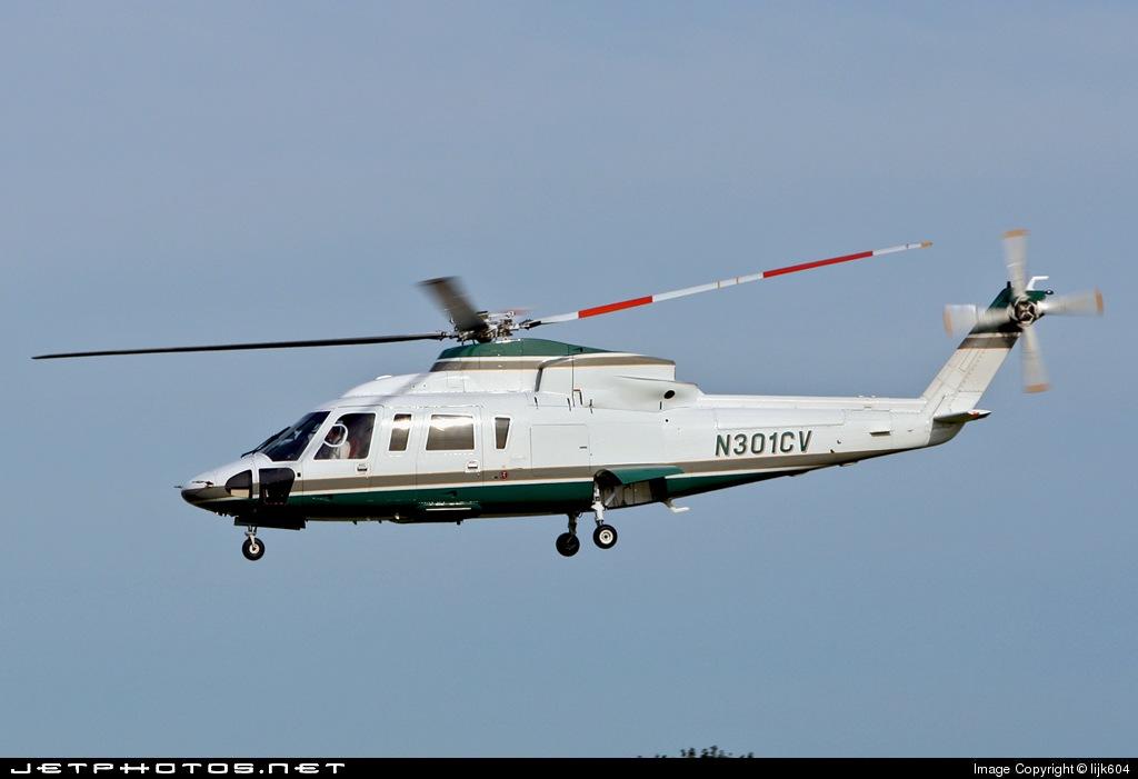 N301CV - Sikorsky S-76C - Private