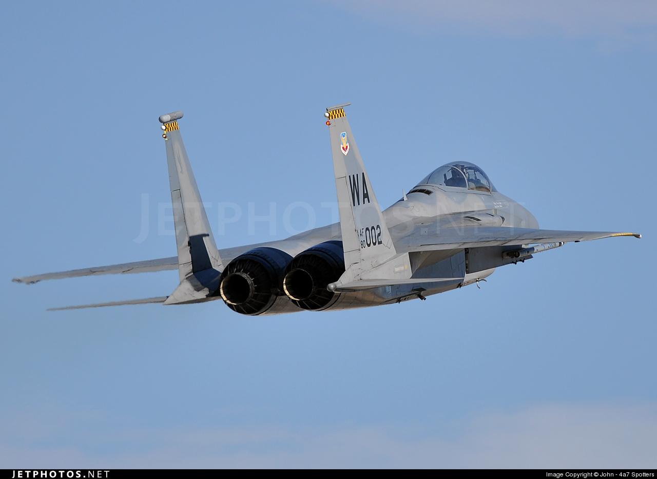80-0002 - McDonnell Douglas F-15C Eagle - United States - US Air Force (USAF)
