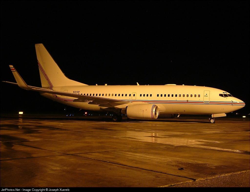 N313P - Boeing 737-7BC(BBJ) - Premier Executive Transport Services