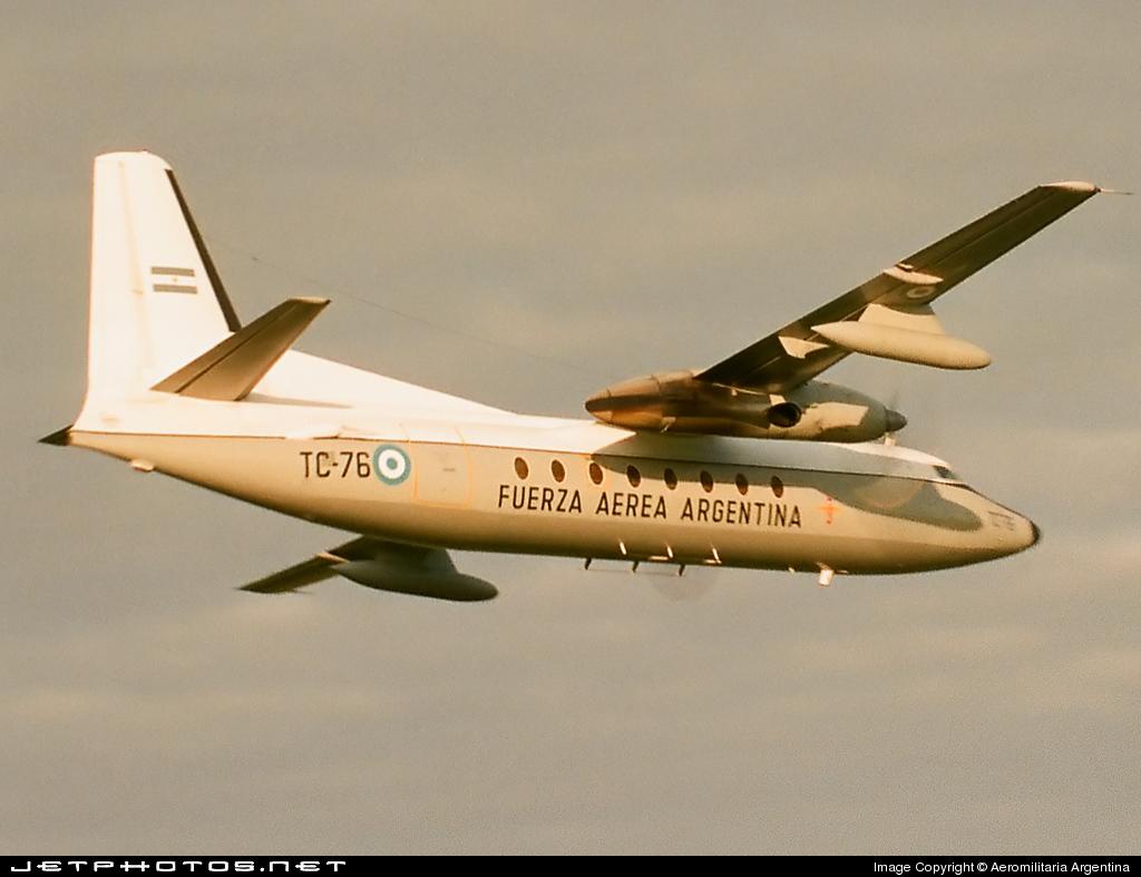 TC-76 - Fokker F27-400M Troopship - Argentina - Air Force