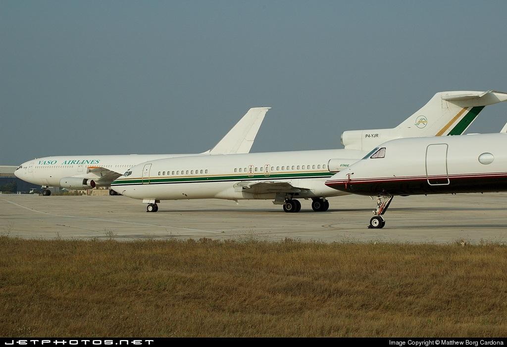 P4-YJR | Boeing 727-30 | JAR Aircraft Services | Matthew
