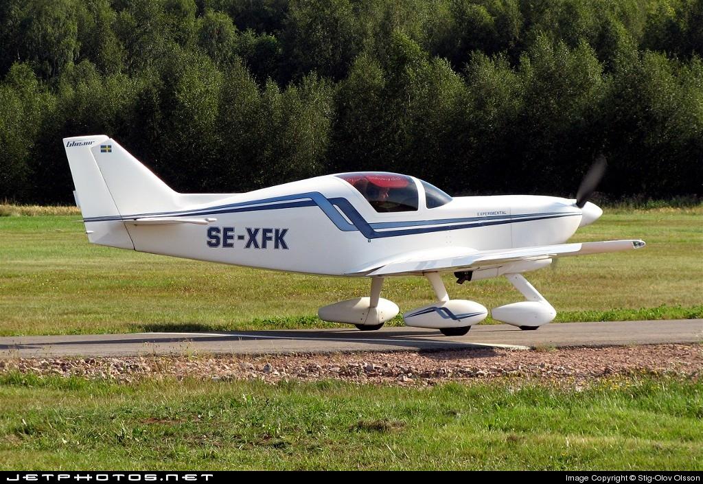 SE-XFK - Glasair Aviation SH-2 - Private