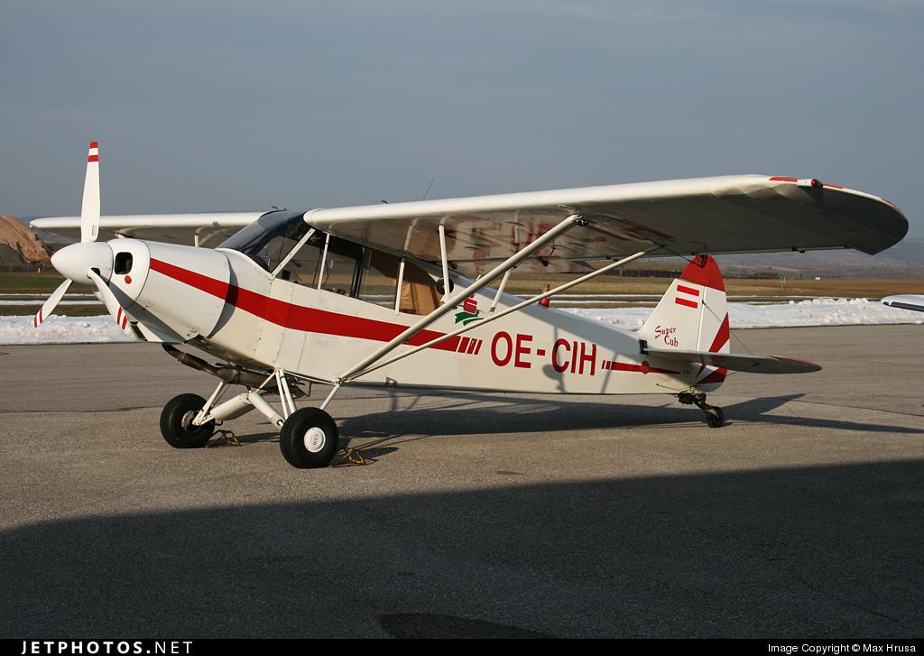 OE-CIH - Piper PA-18-180M Super Cub - Private