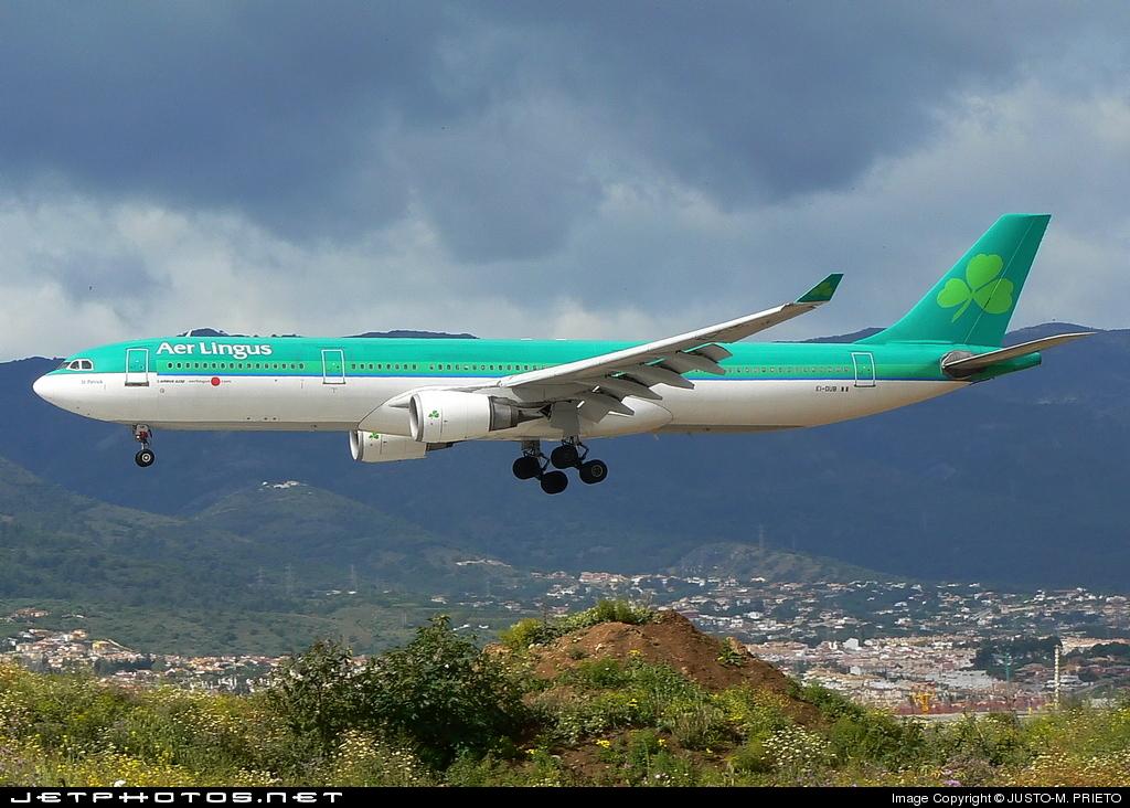 EI-DUB - Airbus A330-301 - Aer Lingus
