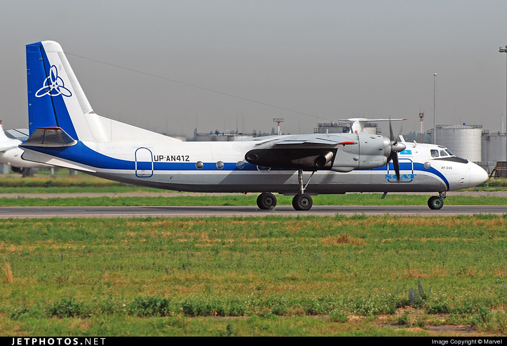 UP-AN412 - Antonov An-24B - Scat Air Company