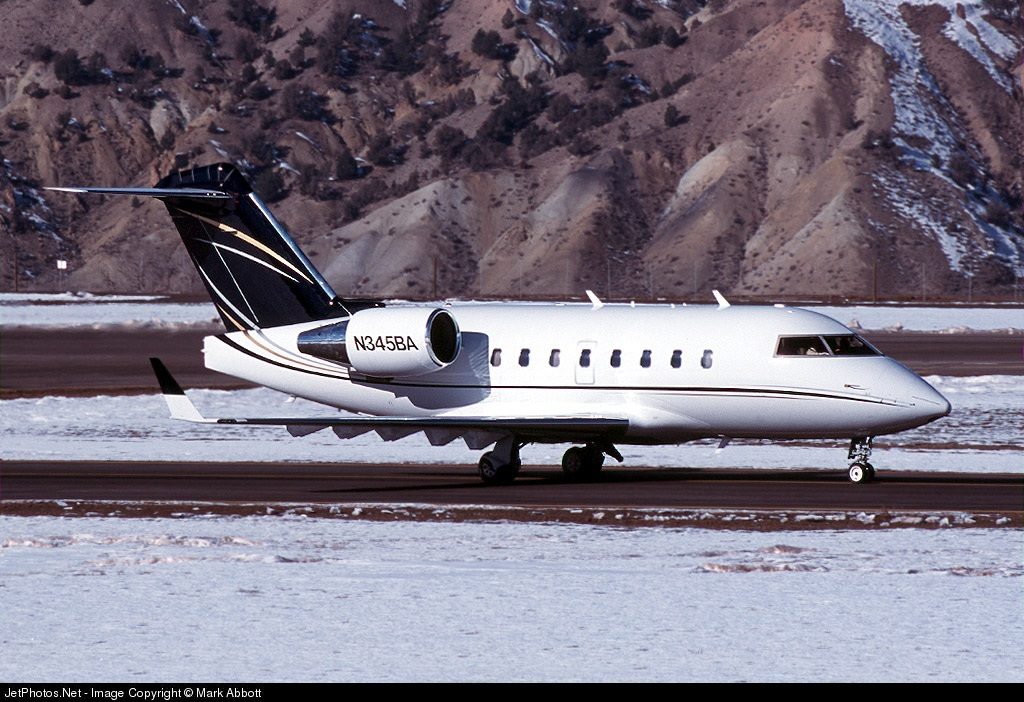 N345BA - Bombardier CL-600-2B16 Challenger 604 - Private