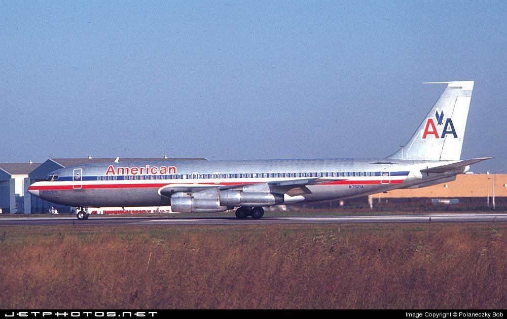 N7521A - Boeing 707-123B - American Airlines