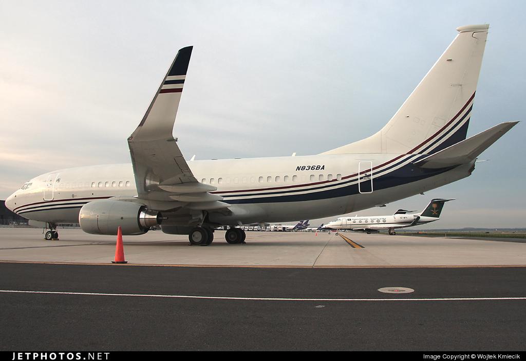 N836BA - Boeing 737-7BC(BBJ) - Boeing Executive