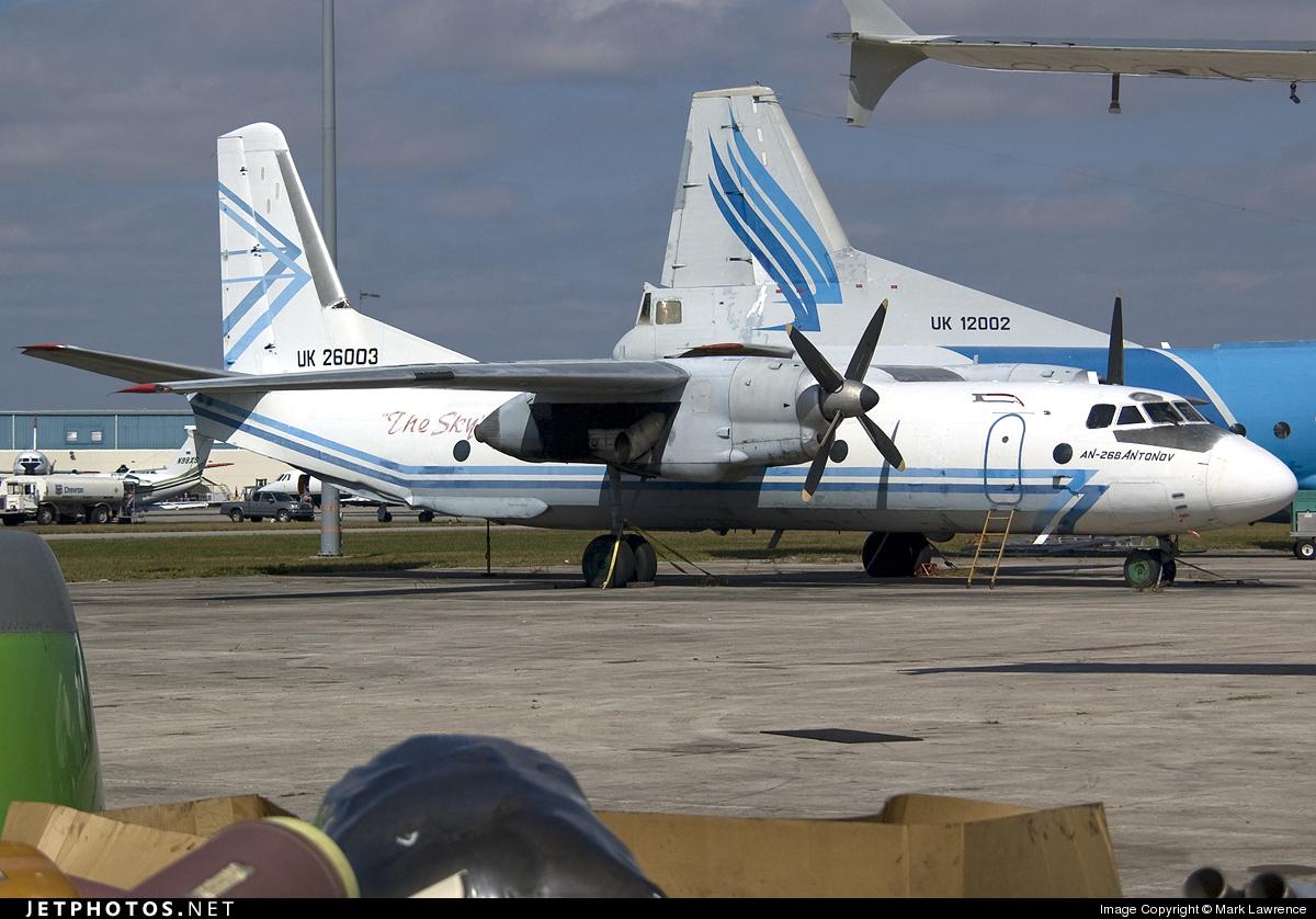 UK-26003 - Antonov An-26B - Avialeasing Aviation Company