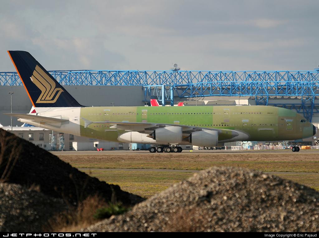F-WWSQ - Airbus A380-841 - Singapore Airlines