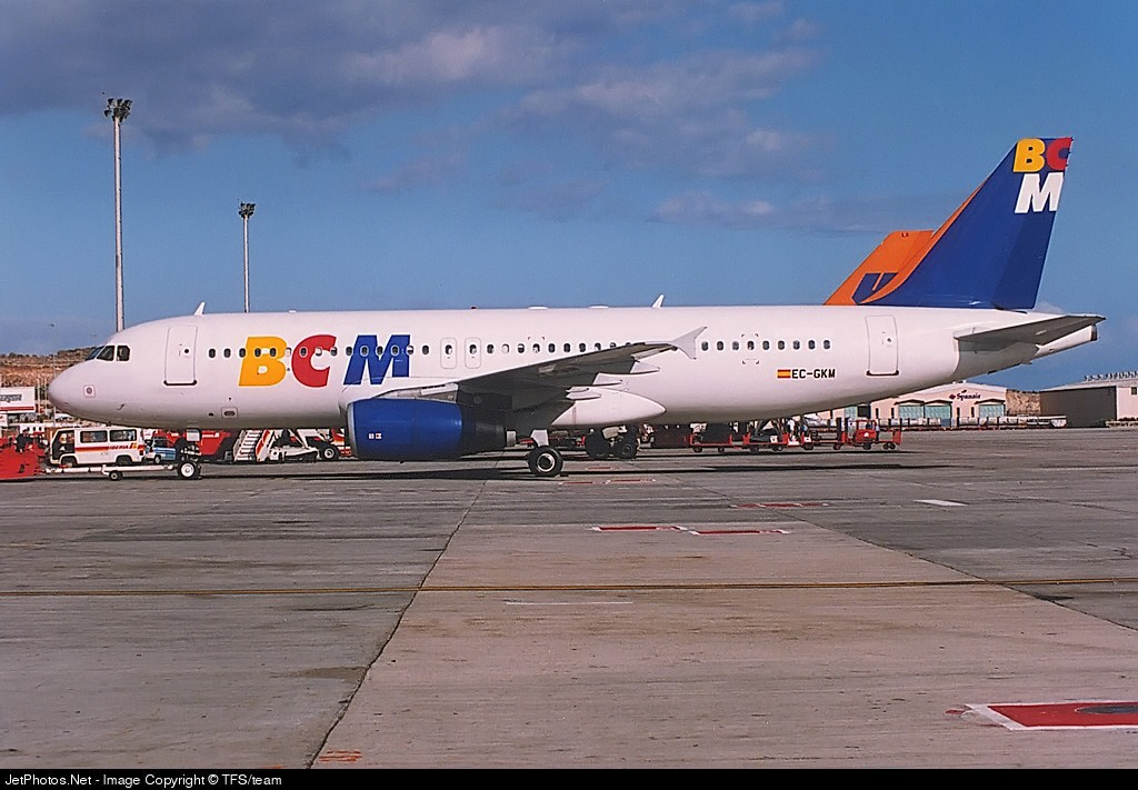 EC-GKM - Airbus A320-231 - BCM Airlines