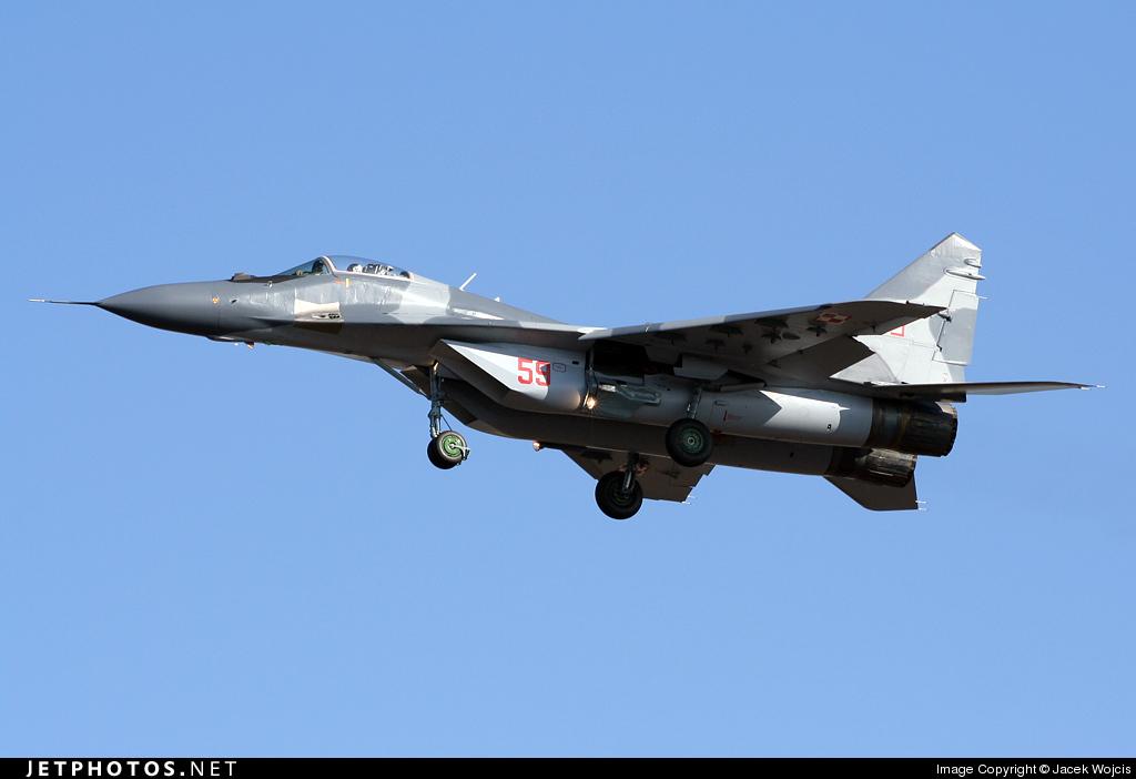 59 - Mikoyan-Gurevich MiG-29A Fulcrum - Poland - Air Force