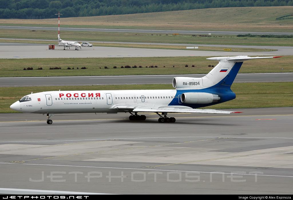RA-85834 - Tupolev Tu-154M - Pulkovo Aviation Enterprise
