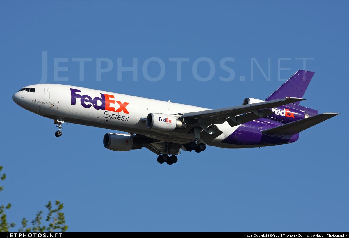 N368FE - McDonnell Douglas MD-10-10(F) - FedEx
