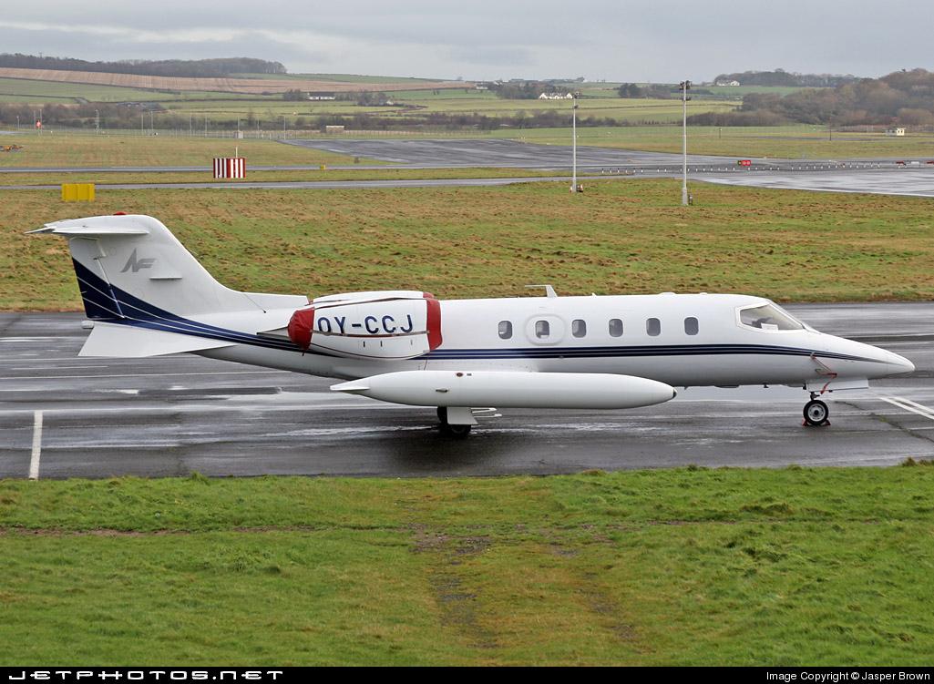 OY-CCJ - Bombardier Learjet 35 - North Flying