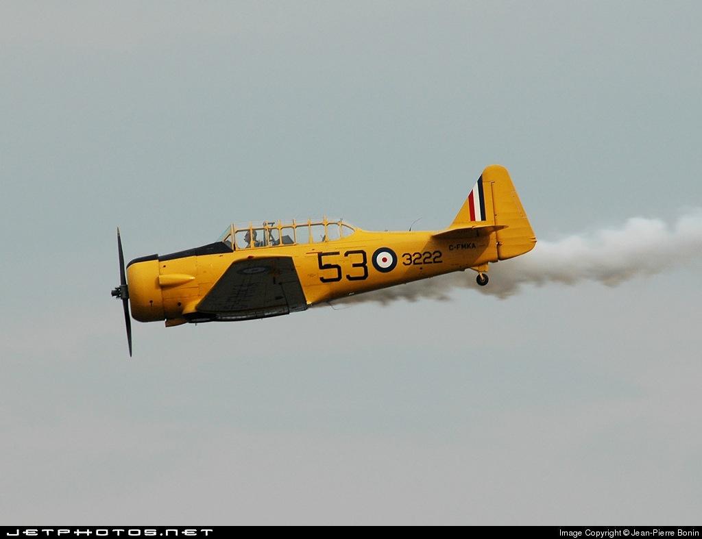 C-FMKA - North American AT-6 Harvard II - Private