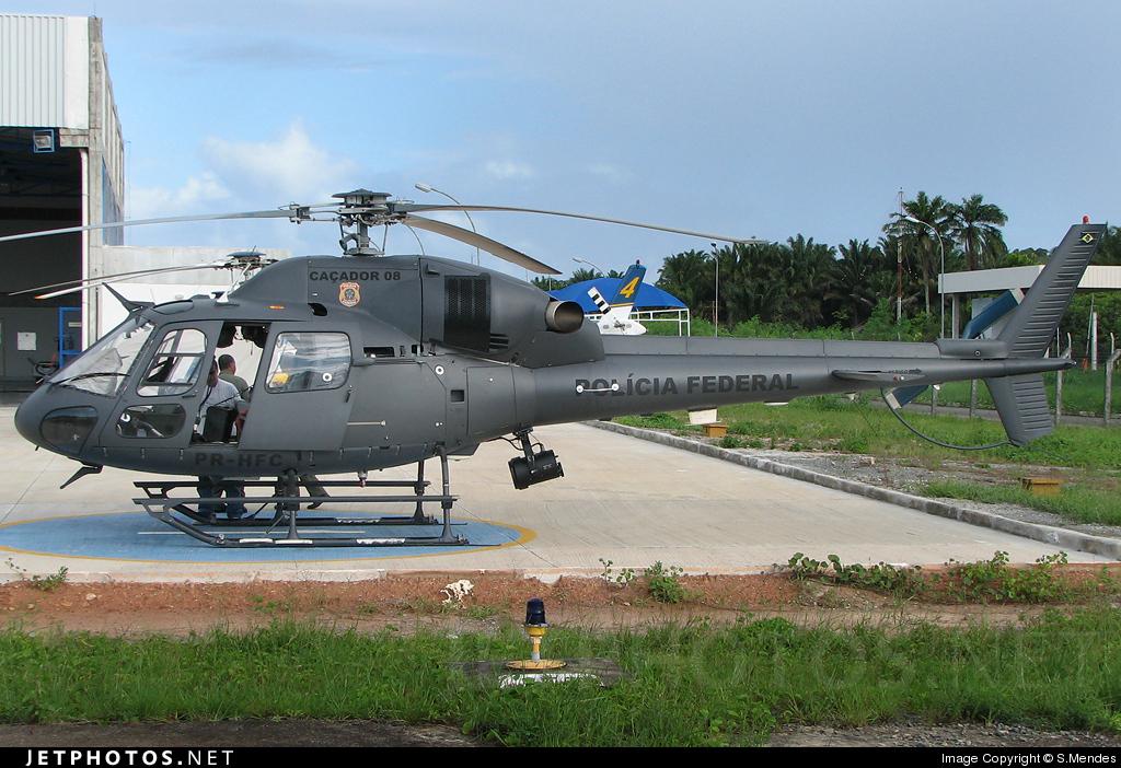 PR-HFC - Eurocopter AS 355N Ecureuil 2 - Brazil - Federal Police