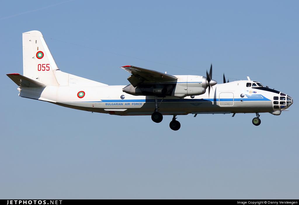 055 - Antonov An-30 - Bulgaria - Air Force