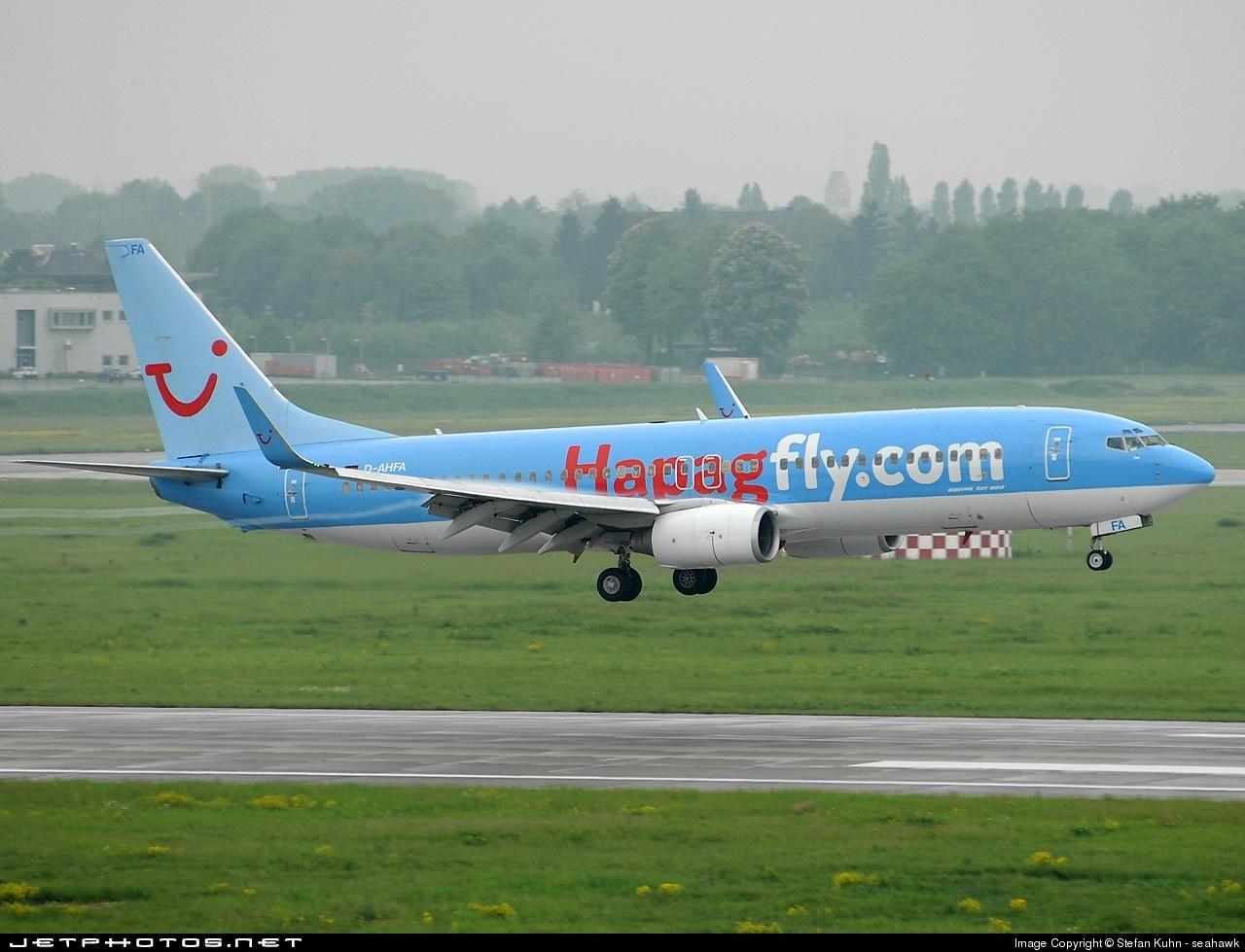 D-AHFA - Boeing 737-8K5 - Hapagfly