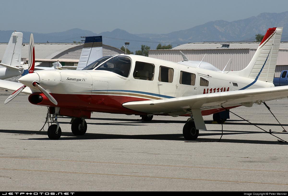 N1111M - Piper PA-32R-301T Turbo Saratoga SP - Private
