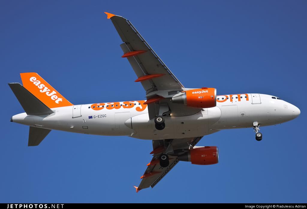 G-EZGC - Airbus A319-111 - easyJet