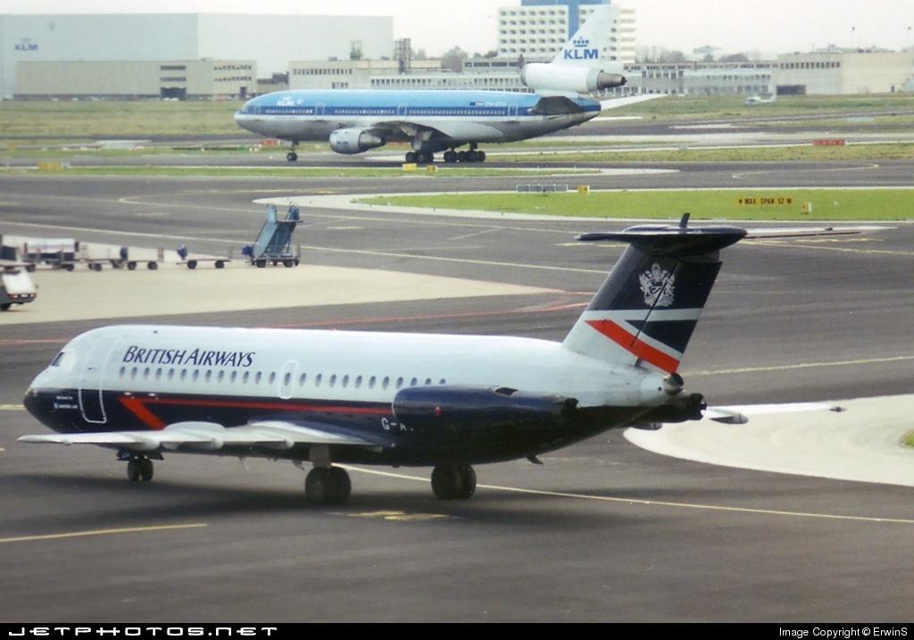 G-AWBL - British Aircraft Corporation BAC 1-11 Series 416EK - British Airways (Maersk Air)