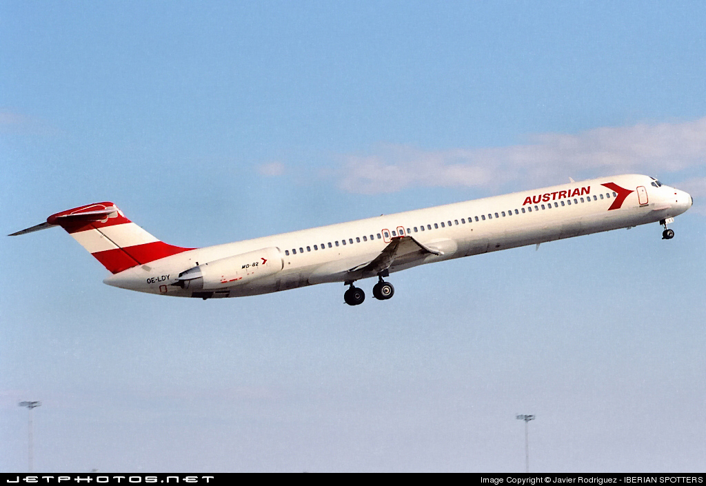 OE-LDY - McDonnell Douglas MD-82 - Austrian Airlines