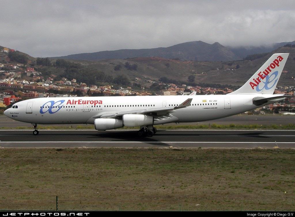 EC-JGU - Airbus A340-211 - Air Europa
