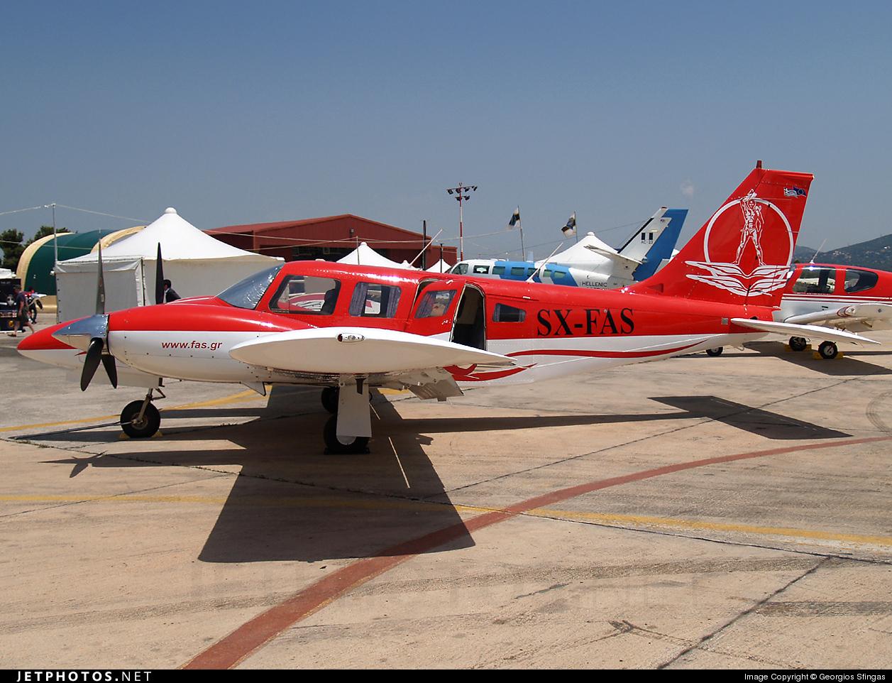SX-FAS - Piper PA-34-200T Seneca II - FAS - Rhodos Pilots Academy