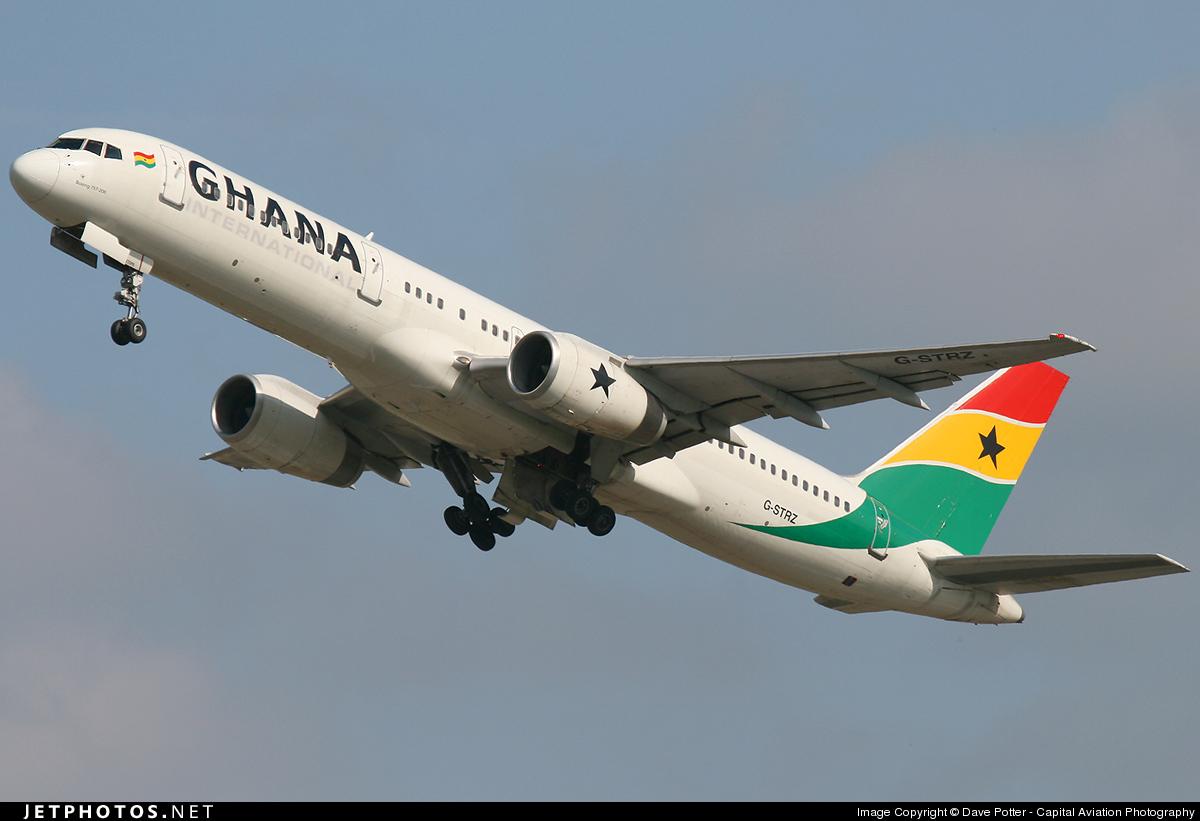 G-STRZ - Boeing 757-258 - Ghana International Airlines (Astraeus Airlines)