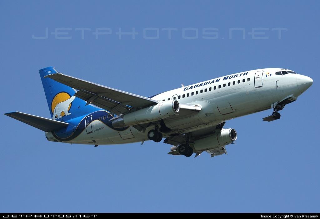 C-GOPW - Boeing 737-275C(Adv) - Canadian North