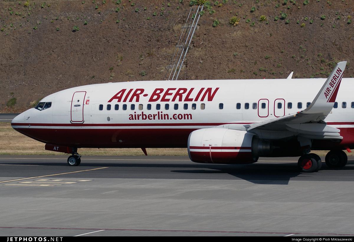 D-ABAT - Boeing 737-86J - Air Berlin