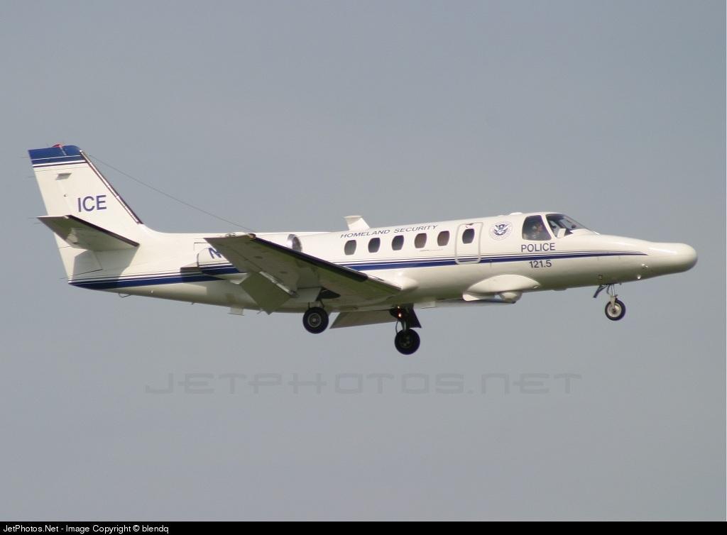 N26496 - Cessna 550 Citation II - United States - US Customs Service