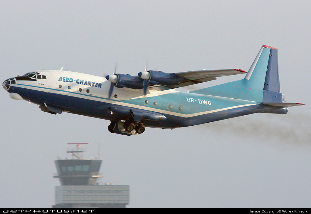 UR-DWG - Antonov An-12BK - ACR Aero-Charter Airlines