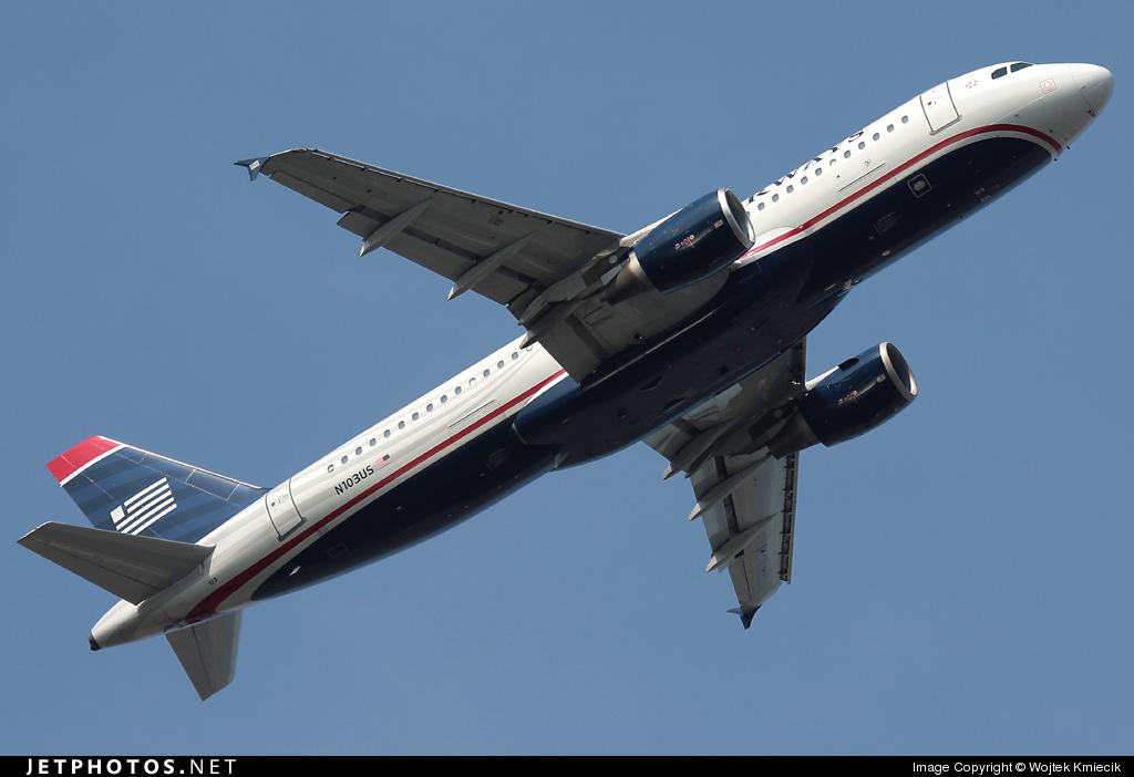 N103US - Airbus A320-214 - US Airways