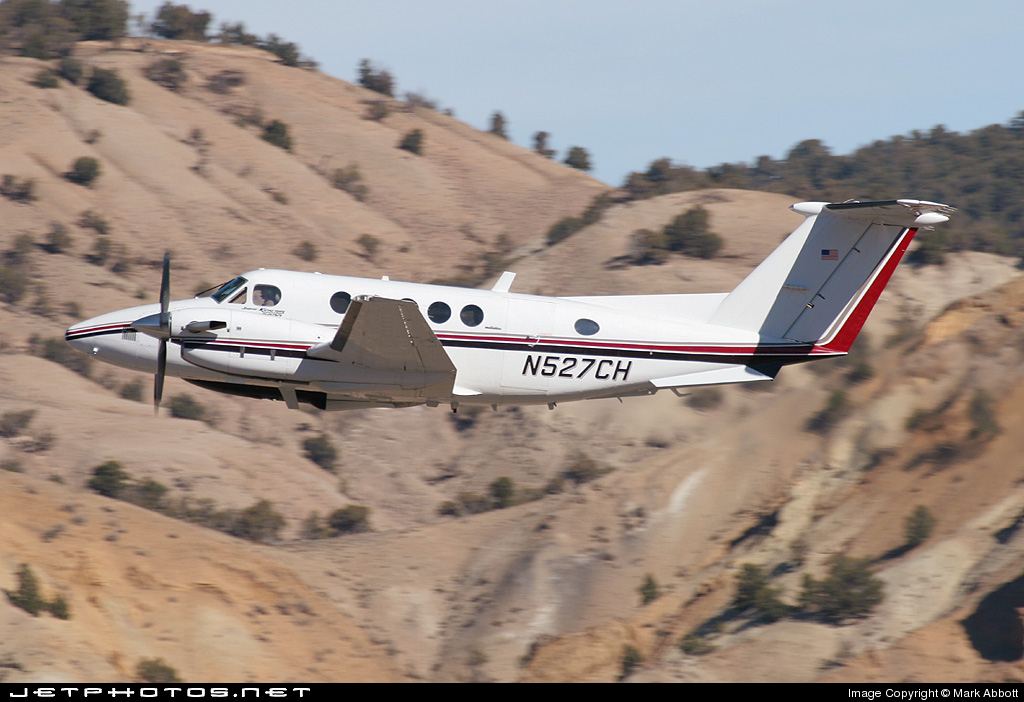 N527CH - Beechcraft B200 Super King Air - Private