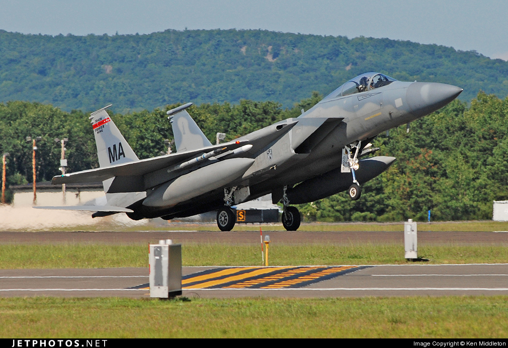 78-0545 - McDonnell Douglas F-15C Eagle - United States - US Air Force (USAF)